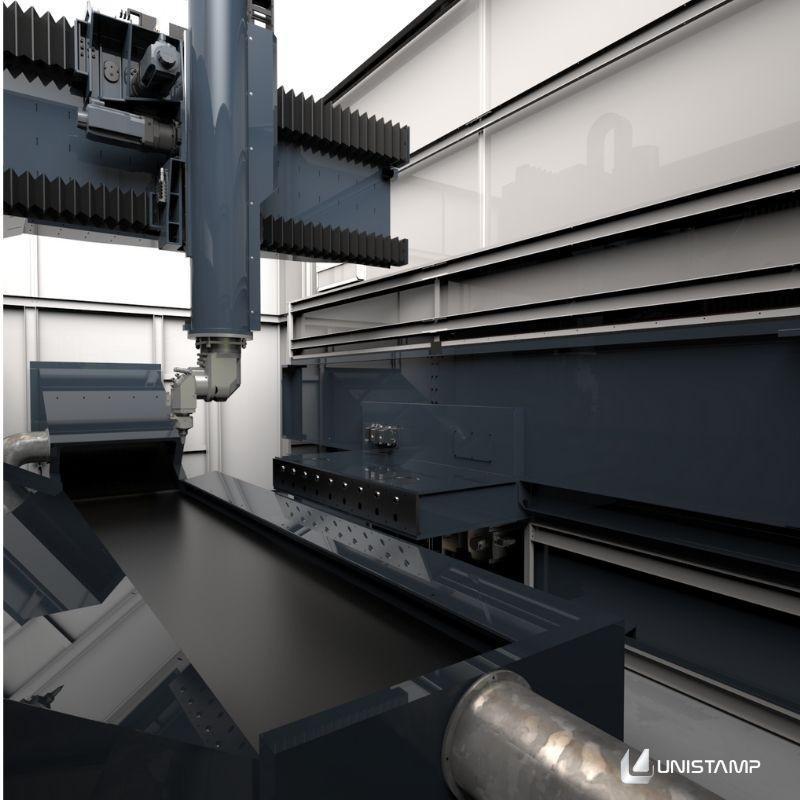 Máquina corte a laser chapa de aço