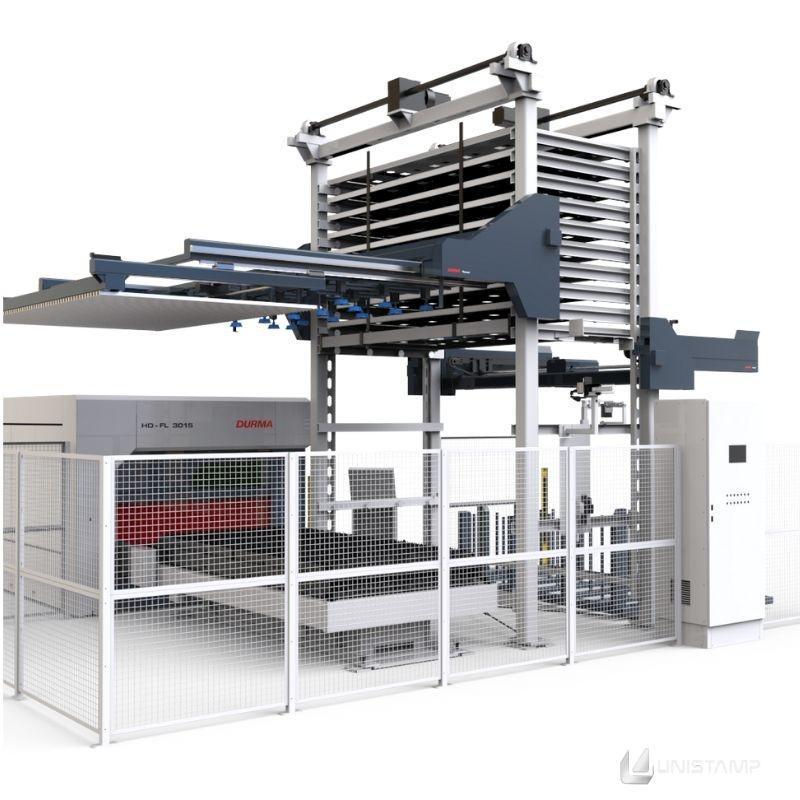 Máquina laser fibra
