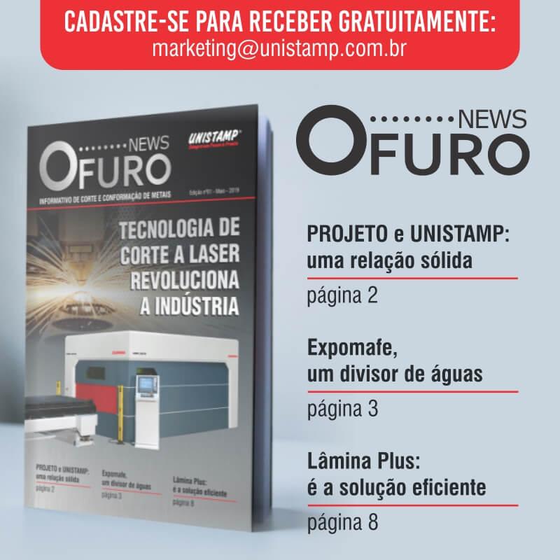 LANÇAMENTO DO O FURO NEWS