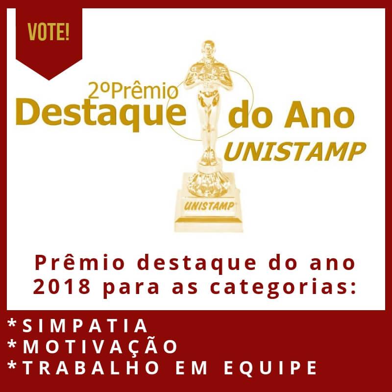 Prêmio Destaque do Ano 2018 – UNISTAMP