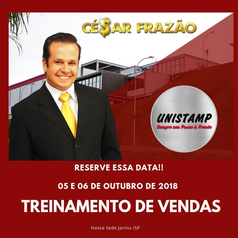 Treinamento de vendas com Cesar Frazão