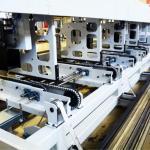Máquina de corte a laser industrial