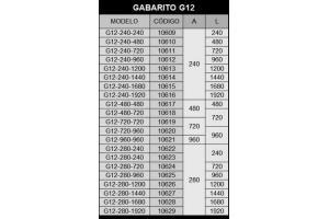 GABARITO - G12